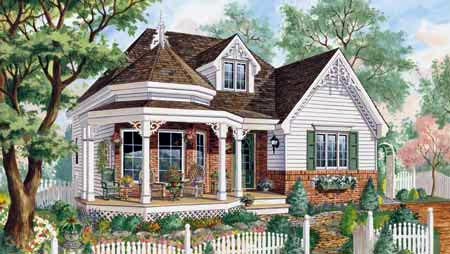 House Plan 49903 Elevation