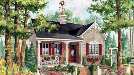 House Plan 49905 Elevation
