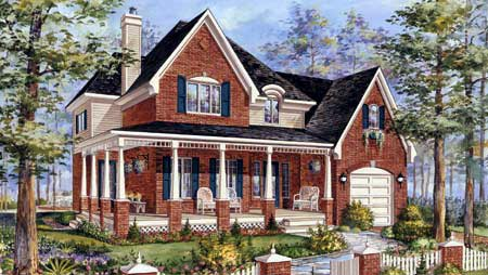 House Plan 49912 Elevation