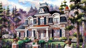 House Plan 49913 Elevation