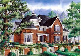 House Plan 49915 Elevation