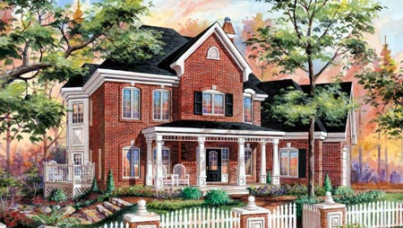 House Plan 49916 Elevation