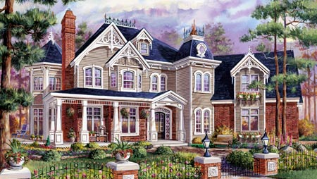 House Plan 49917 Elevation