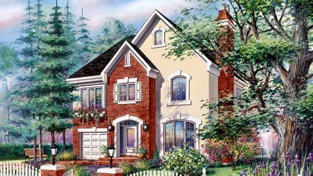 House Plan 49924 Elevation