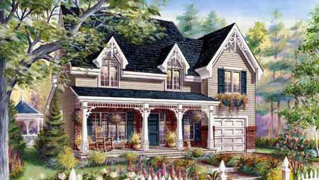 House Plan 49930 Elevation