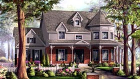 House Plan 49931 with 3 Beds, 2 Baths, 2 Car Garage Elevation
