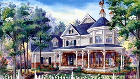 House Plan 49932 Elevation