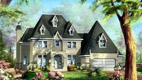 House Plan 49935 Elevation