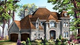 House Plan 49938 Elevation
