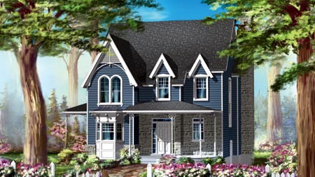 House Plan 49939 | Style Plan with 2043 Sq Ft, 2 Bedrooms, 2 Bathrooms Elevation