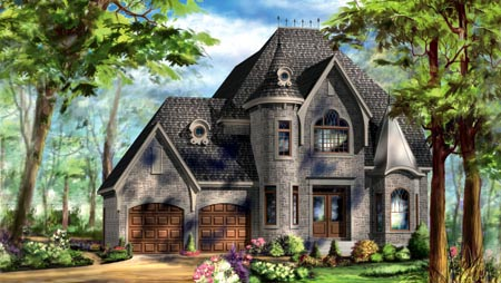 House Plan 49940 Elevation