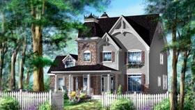 House Plan 49941 Elevation