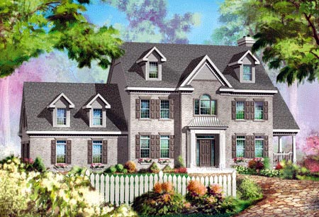 House Plan 49947 Elevation