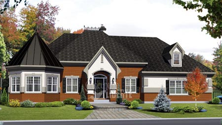 House Plan 49959 Elevation