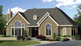 House Plan 49961 Elevation