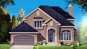 House Plan 49963 Elevation