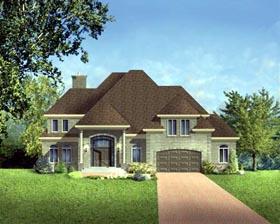 House Plan 49964 Elevation