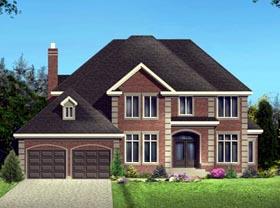 House Plan 49969 Elevation