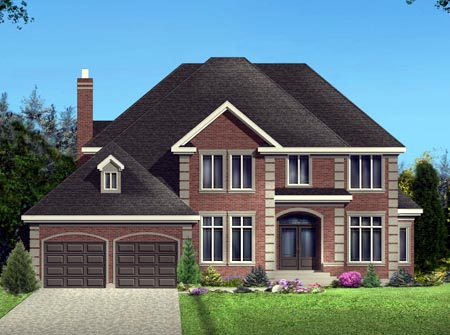 House Plan 49969 Elevation