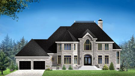House Plan 49970 Elevation