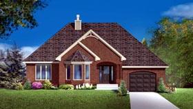 House Plan 49971 Elevation