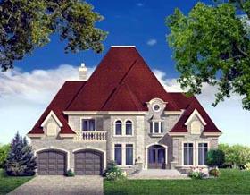 House Plan 49980 Elevation