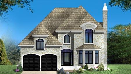 House Plan 49981 Elevation