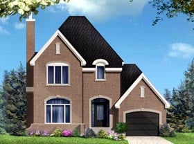 House Plan 49986 Elevation