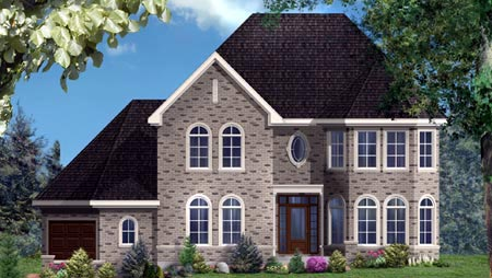 House Plan 49988 Elevation