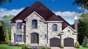 House Plan 49992 Elevation