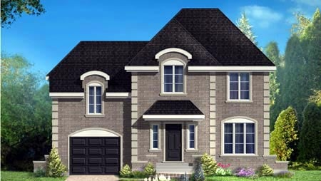 House Plan 49997 with 3 Beds, 2 Baths, 1 Car Garage Elevation