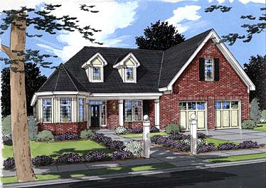 House Plan 50012 | Country Traditional Victorian Style Plan with 2449 Sq Ft, 3 Bedrooms, 3 Bathrooms, 2 Car Garage Elevation
