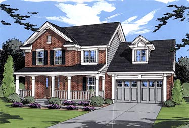 Country House Plan 50017 Elevation