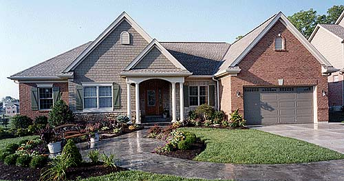 Colonial Traditional House Plan 50032 Elevation