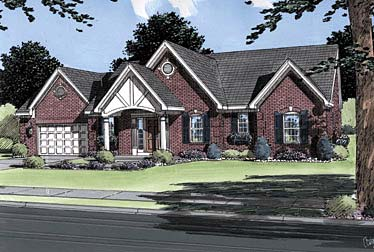 Traditional House Plan 50036 Elevation