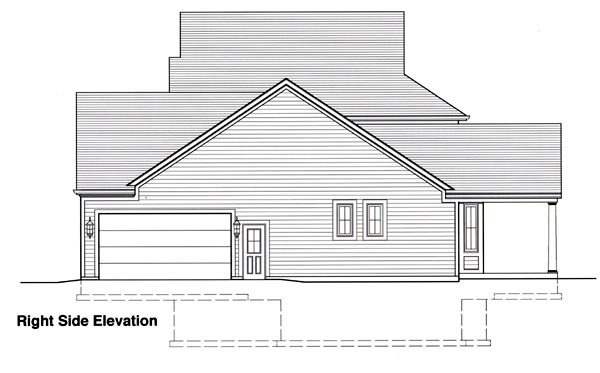 European, Traditional House Plan 50039 with 4 Beds, 4 Baths, 2 Car Garage Picture 2