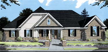 Bungalow House Plan 50046 Elevation