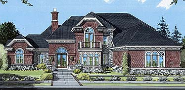 House Plan 50060 Elevation