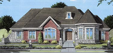 House Plan 50063 Elevation