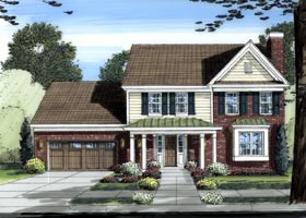 Traditional House Plan 50064 Elevation