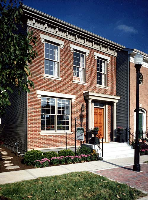 Colonial House Plan 50065 with 2 Beds, 3 Baths Picture 1