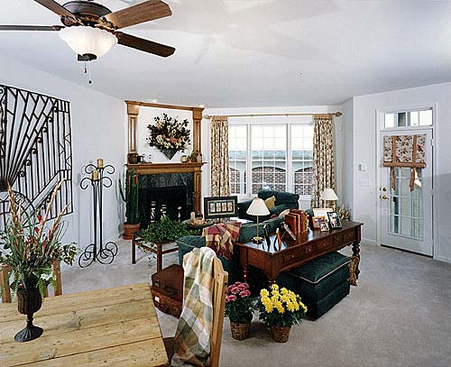 Colonial House Plan 50065 with 2 Beds, 3 Baths Picture 2