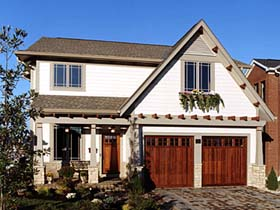 Bungalow Country House Plan 50067 Elevation