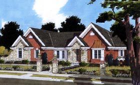 Traditional House Plan 50069 Elevation