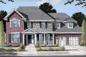 Country European Traditional House Plan 50071 Elevation