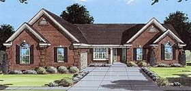 Traditional House Plan 50075 Elevation