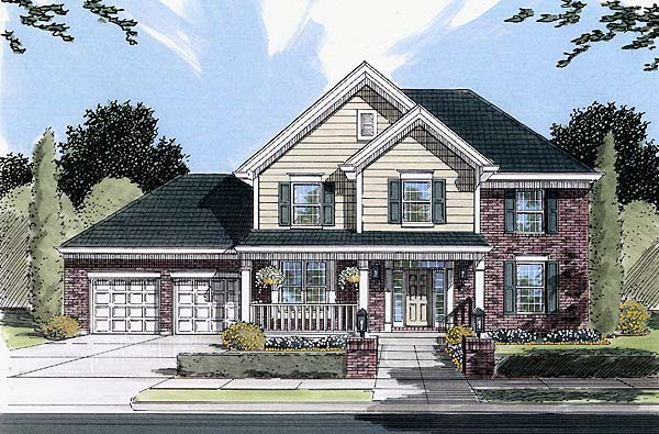 Country House Plan 50078 Elevation