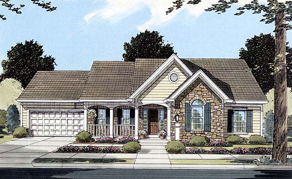 Country House Plan 50081 Elevation