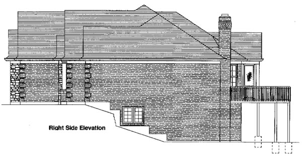 Traditional House Plan 50091 with 3 Beds, 2 Baths, 3 Car Garage Picture 1