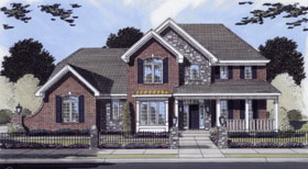 House Plan 50094 Elevation